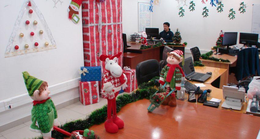 Concurso De Arreglos Navidenos En Las Oficinas De Zeal Zeal - Arreglos-navideos